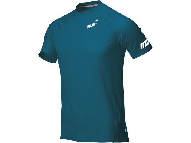 inov-8 Base Elite Odzież bazowa z krótkim rękawem Mężczyźni, blue green